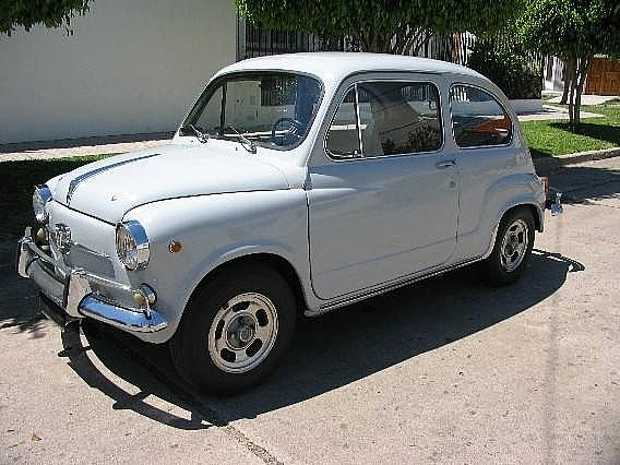 1968 Fiat 600 for sale