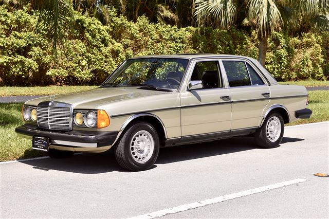 1985 mercedes 300d for sale delray beach florida for 1985 mercedes benz 300d