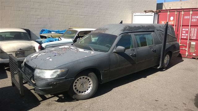 1998 Lincoln Town Car Hearse For Sale Van Nuys California