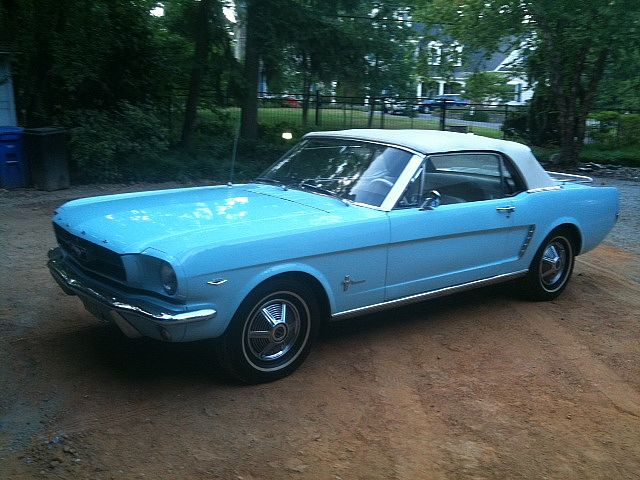1964 ford mustang for sale potomac maryland. Black Bedroom Furniture Sets. Home Design Ideas
