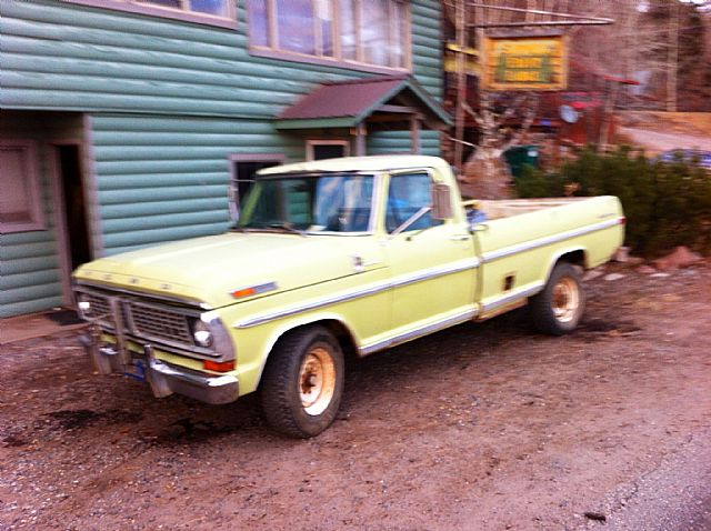 1972 1/2 Ford F250 for sale