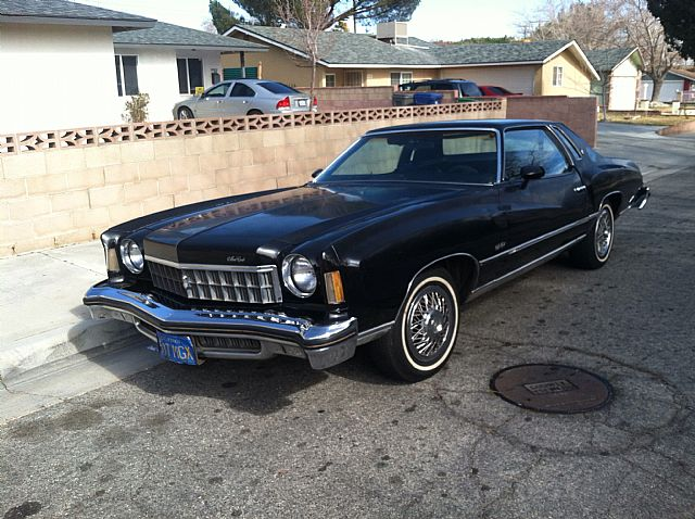 1975 Chevrolet Monte Carlo for sale