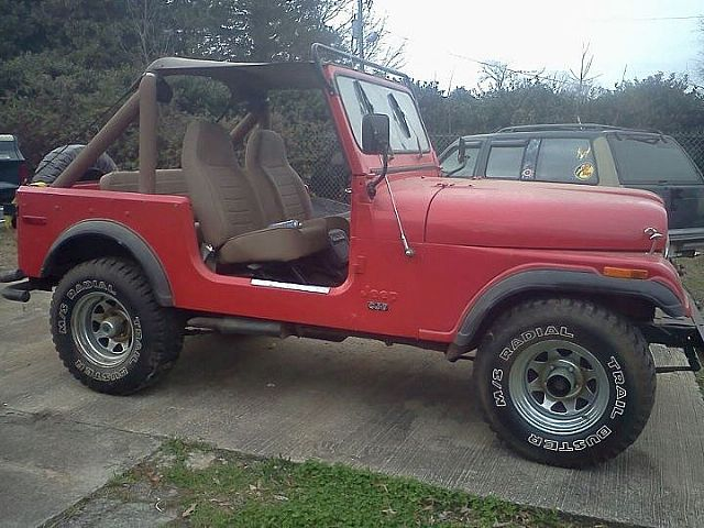 1976 Jeep CJ7 for sale