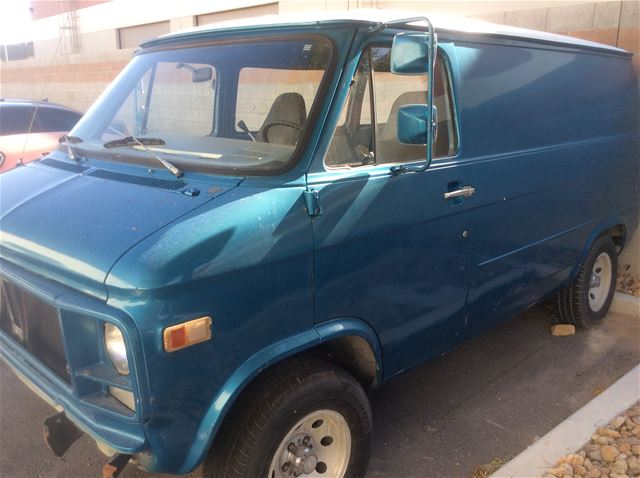 1979 Chevrolet Window Van