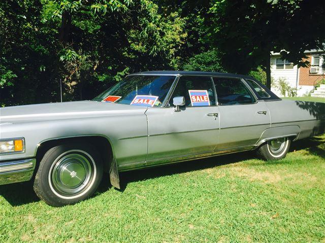 1975 Cadillac Sedan DeVille For Sale Hughland, New York