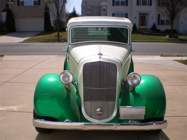 1933 Plymouth 2 Door