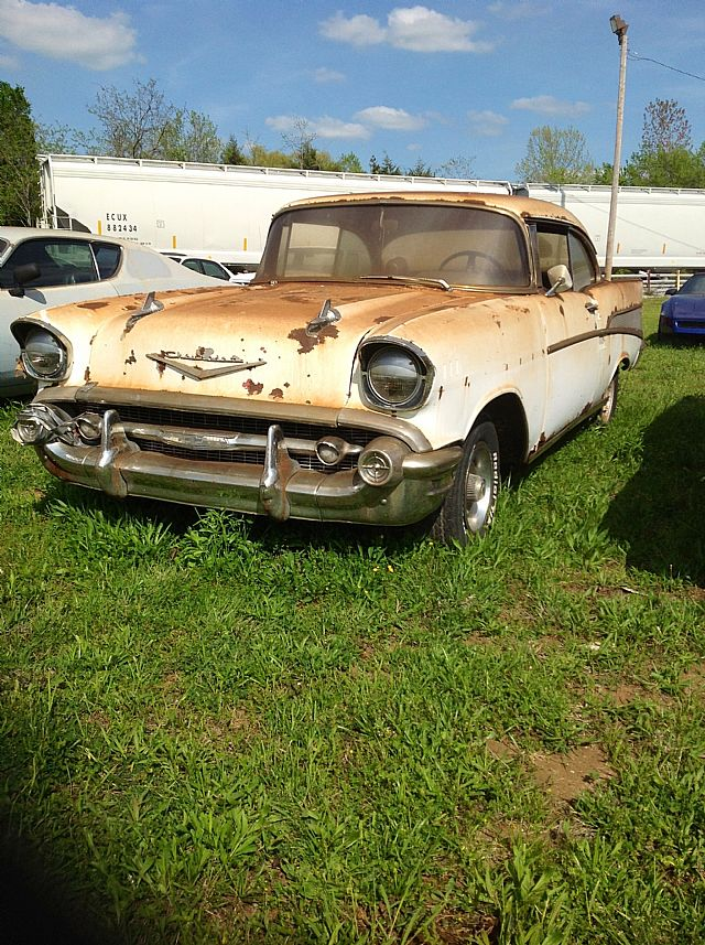 1957 Chevrolet Bel Air For Sale Lewisburg Tennessee