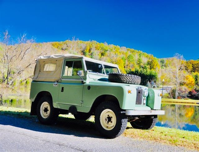 1962 Land Rover Series 11A