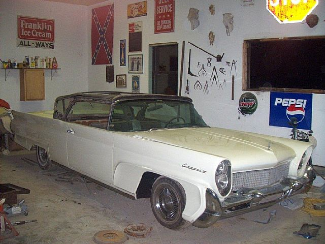 1958 Lincoln Continental for sale