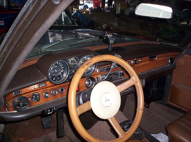 1972 Mercedes 280SE for sale