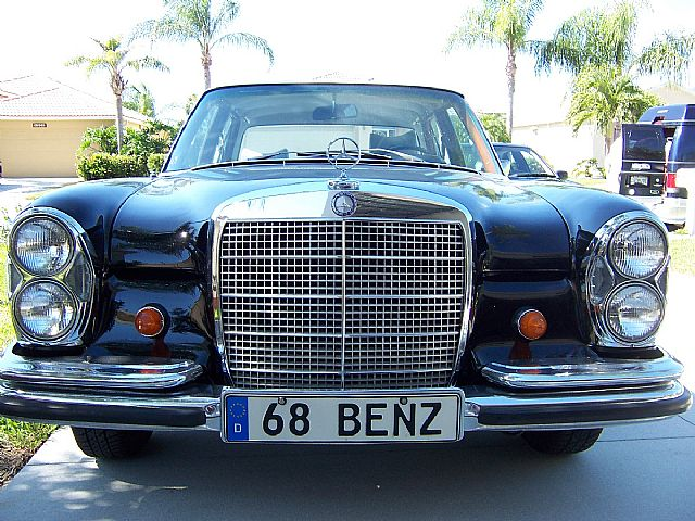 1968 Mercedes 250 for sale