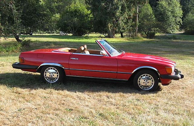 1974 Mercedes 450SL for sale