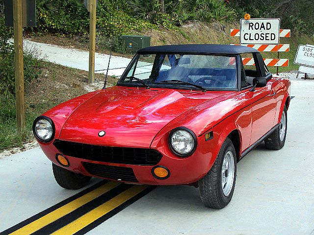 1975 Fiat Spider for sale