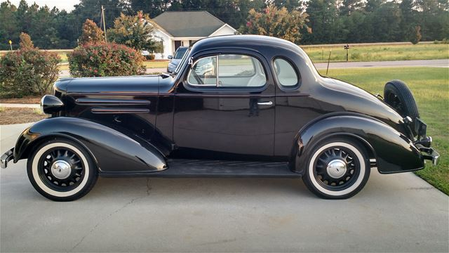 1936 chevrolet 5 window coupe standard for sale statesboro for 1936 chevy 5 window coupe