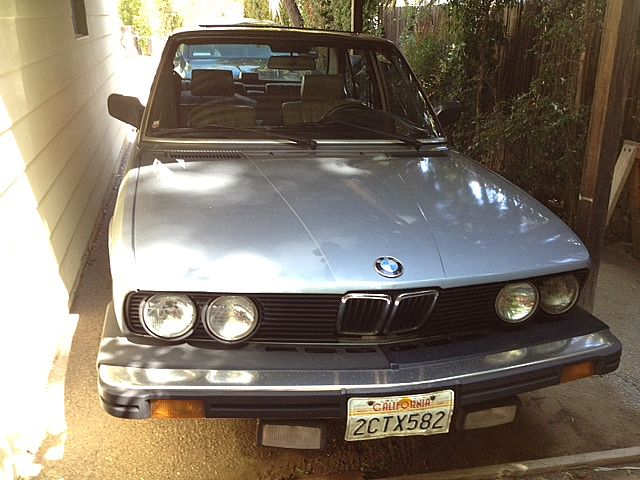 1986 BMW 535i for sale