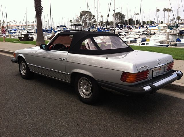 1979 Mercedes 450SL for sale