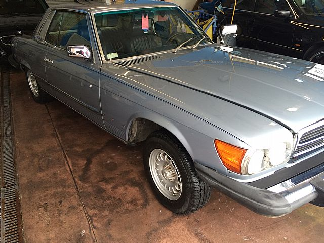1981 Mercedes 380SLC for sale