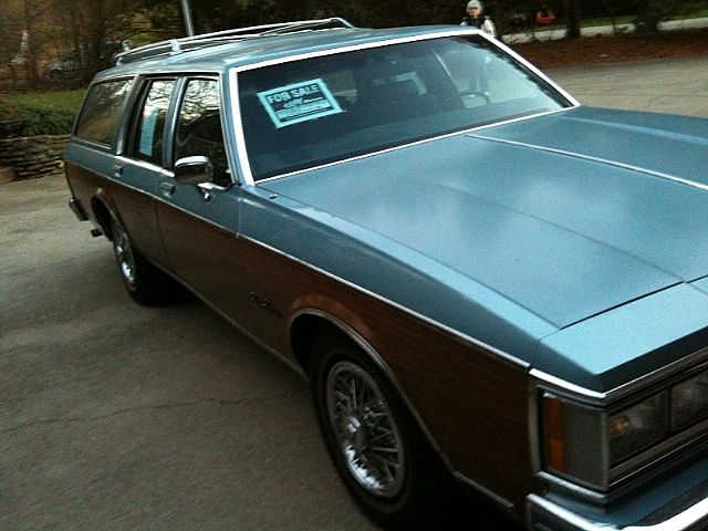 1986 Oldsmobile Custom Cruiser for sale