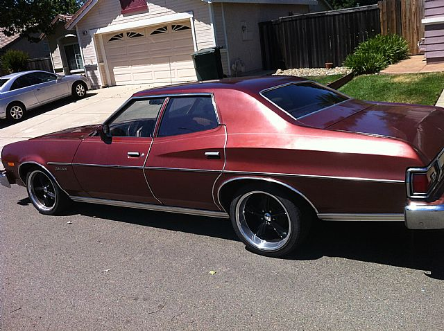 1975 ford gran torino for sale roseville california. Black Bedroom Furniture Sets. Home Design Ideas