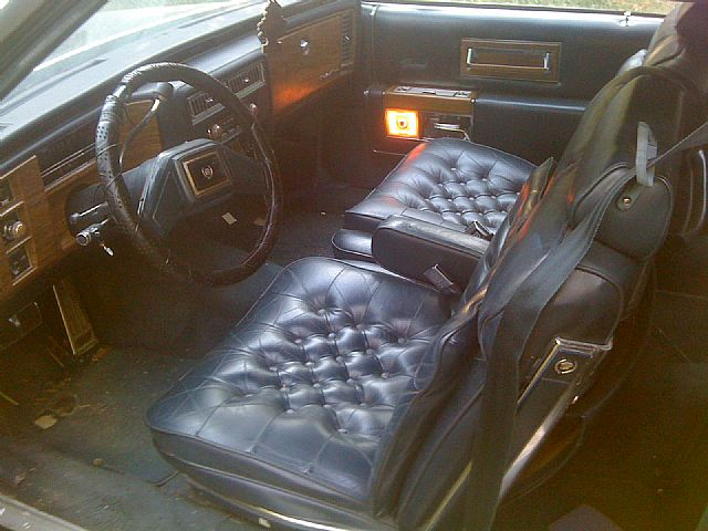 1985 Cadillac Fleetwood Brougham Interior Pictures to Pin on