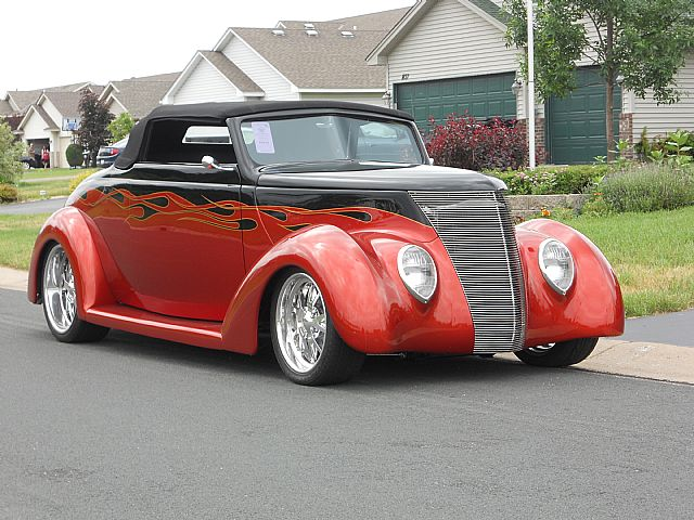 1937 Ford Convertible for sale