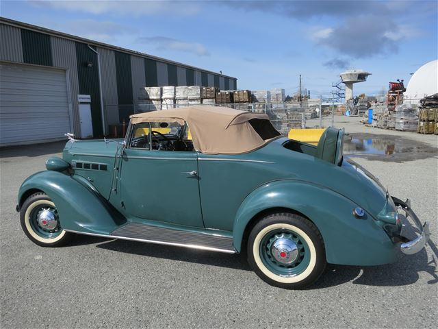 1937 Packard 115C Cabriolet For Sale Langley, British Columbia