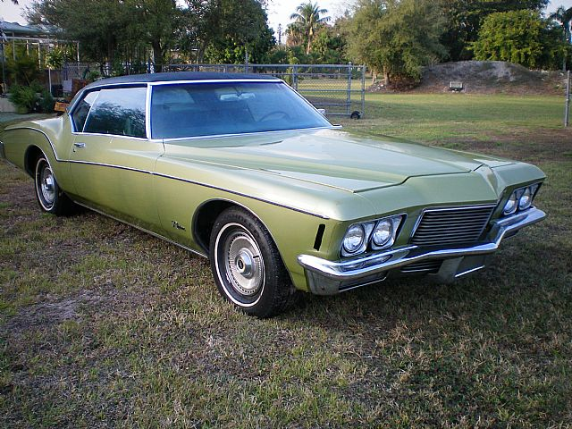 1971 buick riviera for sale south florida florida. Black Bedroom Furniture Sets. Home Design Ideas