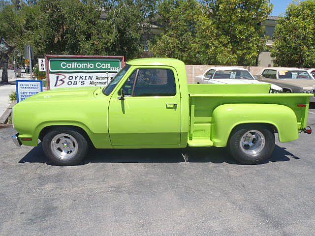 1977 Dodge D100 Stepside For Sale Thousand Oaks, California