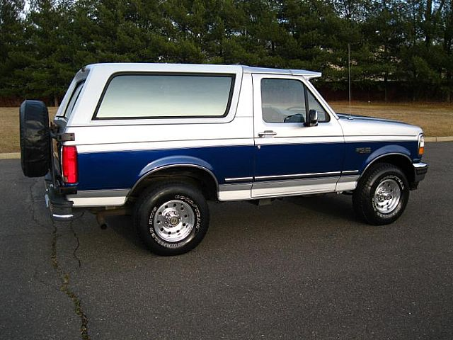 1996 ford bronco eddie bauer xlt for sale valley stream new york. Cars Review. Best American Auto & Cars Review