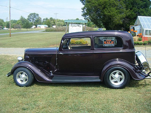 1934 Plymouth 2 Door Street Rod For Sale Yadkinville