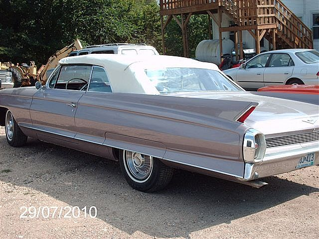 1962 Cadillac Convertible For Sale Browns Valley Minnesota