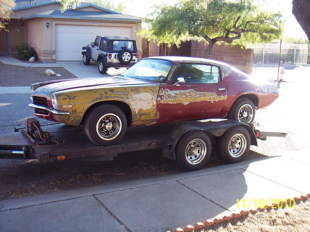 1972 chevrolet camaro for sale tucson arizona. Black Bedroom Furniture Sets. Home Design Ideas
