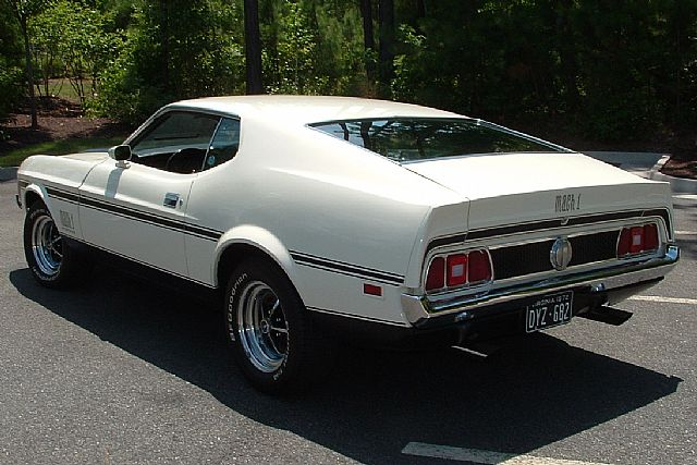 1972 Ford Mustang Mach 1 For Sale Midlothian Virginia