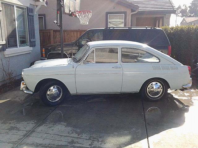 1969 Volkswagen Fastback For Sale Sacramento California
