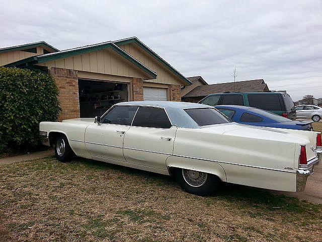 1969 Cadillac Sedan DeVille For Sale Haltom City, Texas