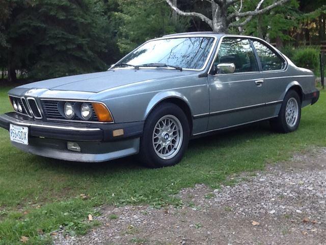 1985 Bmw 635csi For Sale Hamilton Ontario