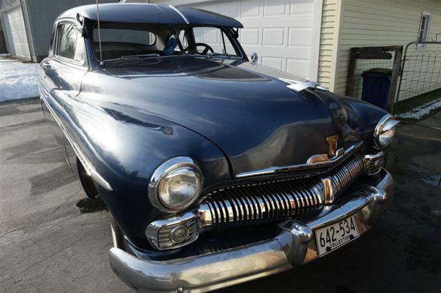 1950 mercury 2 door coupe for sale florida city florida for 1950 mercury 4 door for sale
