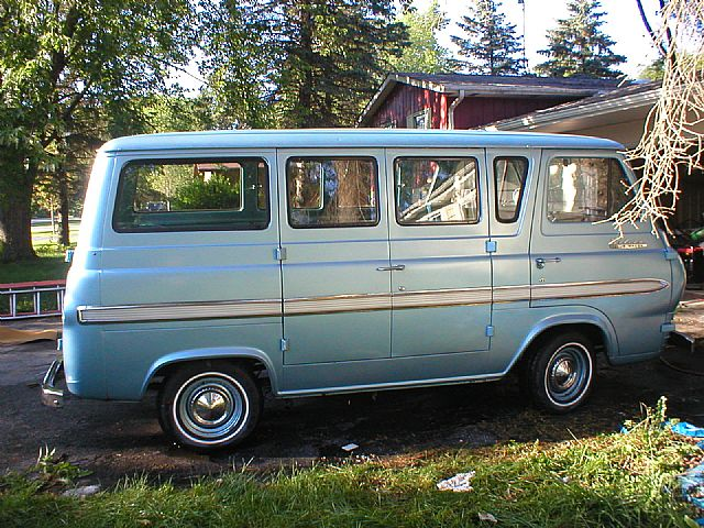 1964 Ford Falcon Deluxe Club Wagon Van For Sale Gurnee