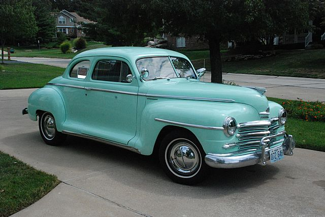 1948 Plymouth P15 Deluxe For Sale Iowa
