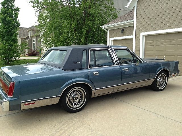 1986 Lincoln Town Car For Sale Lenexa Kansas