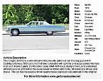 1975 Cadillac Coupe DeVille Picture 2