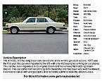1977 Mercedes 450SEL Picture 2