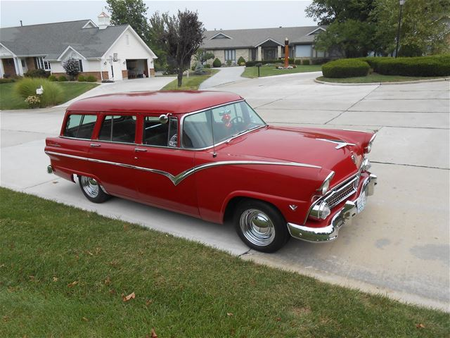 1955 ford country sedan wagon for sale iowa for 1955 ford 2 door wagon