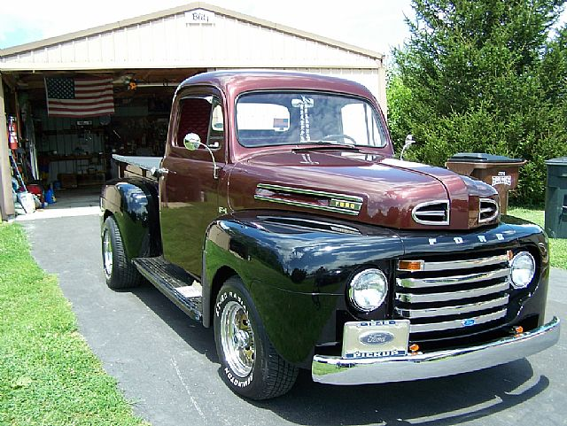 1949 ford pickup for sale pleasureville kentucky. Black Bedroom Furniture Sets. Home Design Ideas