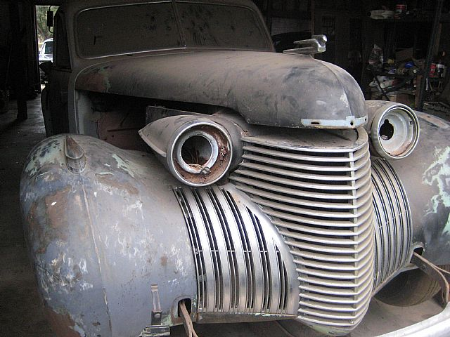 Cad on 1940 Lasalle V8 Engine