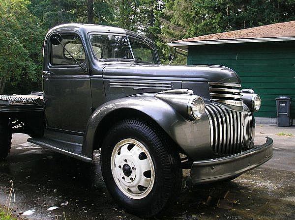 1946 Chevrolet Truck For Sale Everett, Washington