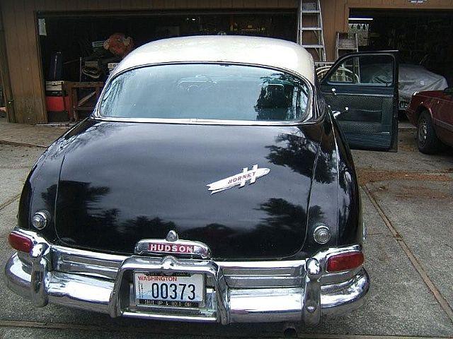1953 Hudson Hornet For Sale Lynnwood Washington