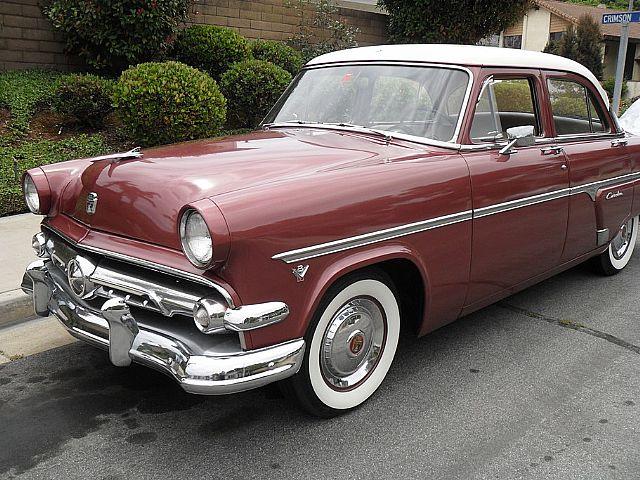 1954 Ford Customline For Sale Huntington Beach California