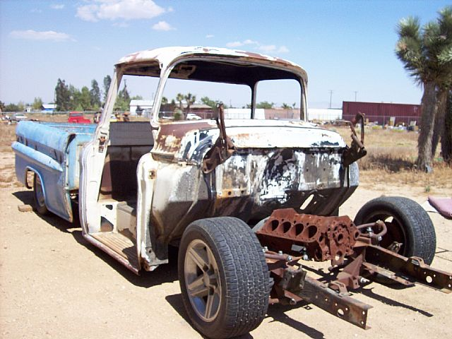 Frame Swap 1955 59 Chevrolet Truck | Autos Post