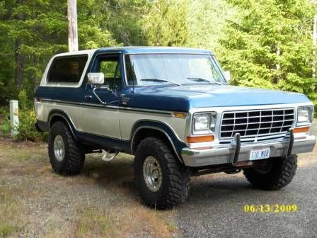 1978 ford bronco for sale belfair washington. Black Bedroom Furniture Sets. Home Design Ideas
